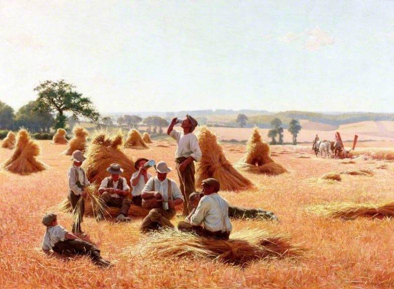 Sheard, Thomas Frederick Mason; Harvesters Resting; Shipley Art Gallery; http://www.artuk.org/artworks/harvesters-resting-36138
